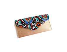 African Clutch Bags (Gold and Multicolored)